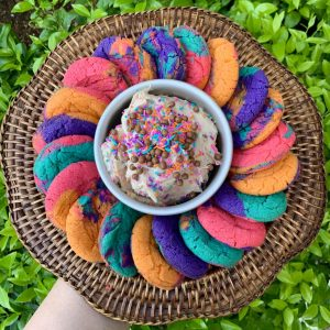 Week 2: Rainbow Magic Cookie Baking & Dip Making