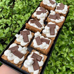 Week 3: S'mores Brownie Baking & Decorating