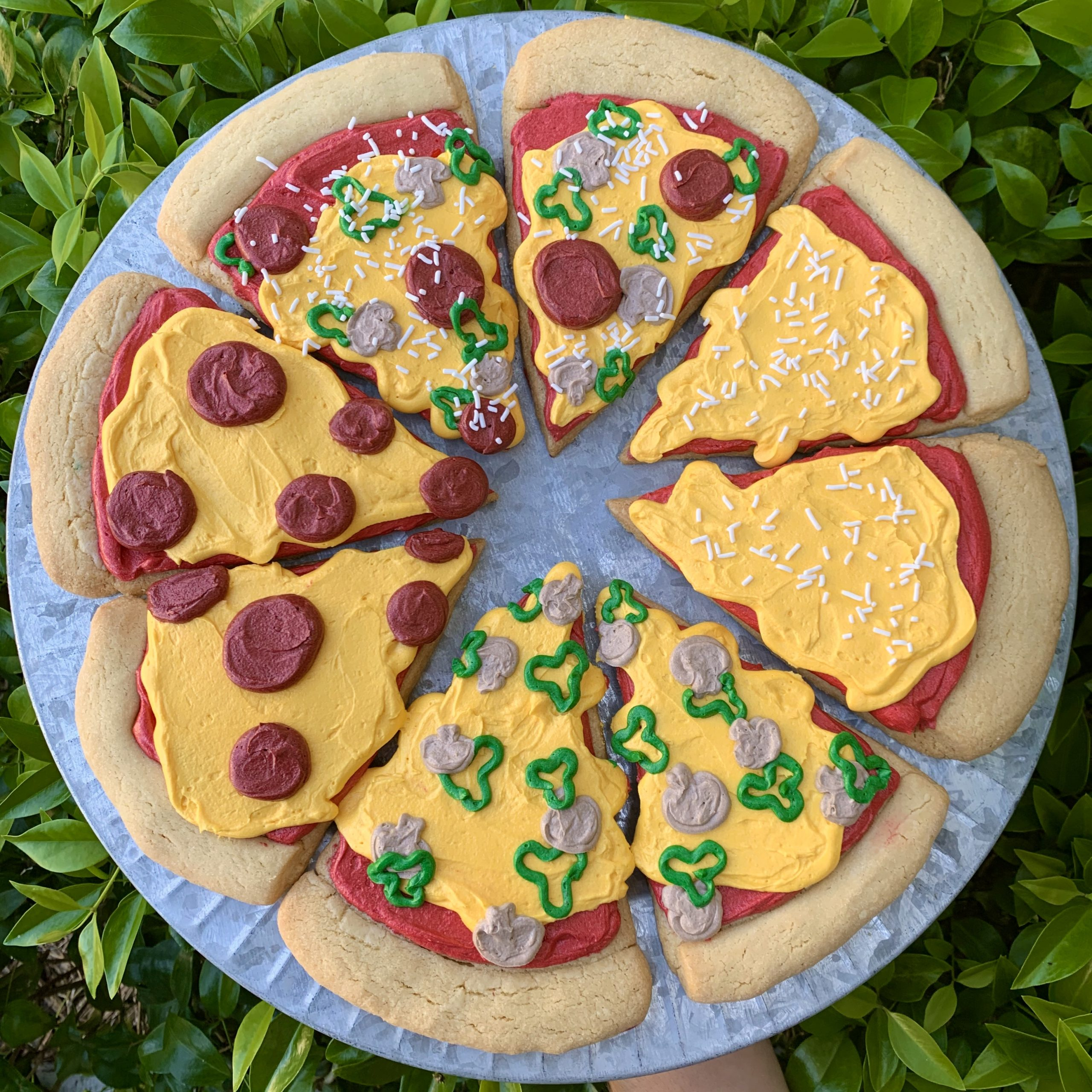 Week 8: Pizza Party Cookie & Decorating